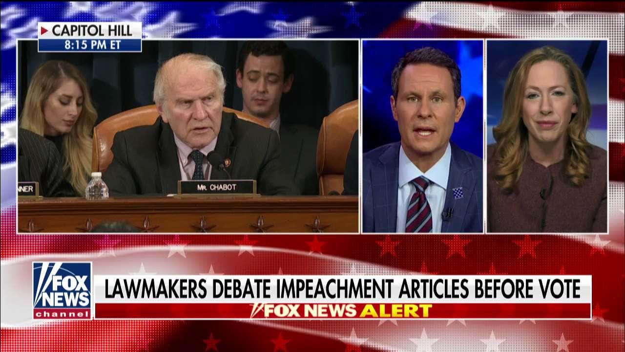 '蜂蜜を縮小し、impeachment':キンバリー Strassel反応する改正民主的な論文