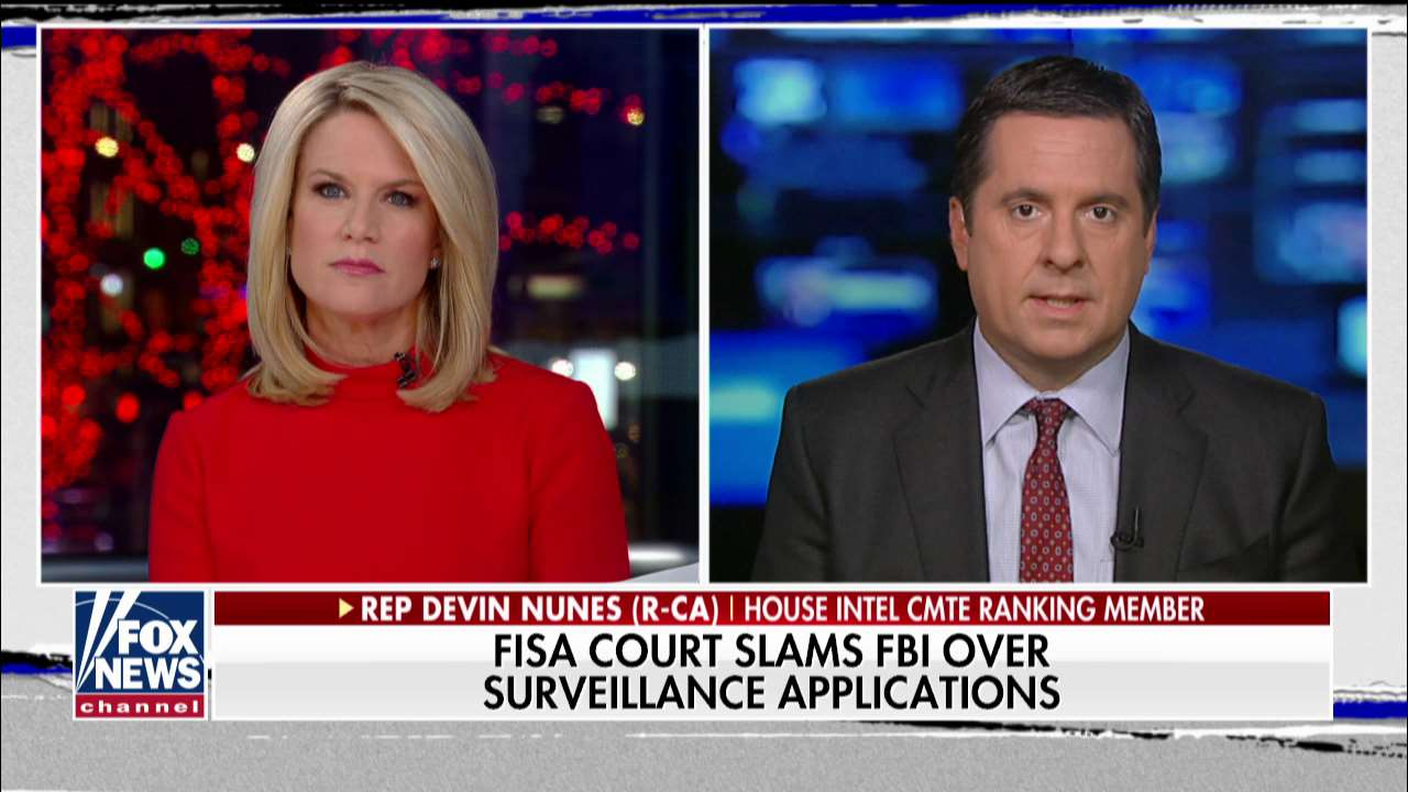 Westlake Legal Group ENC3_132211014652480000-2 Devin Nunes: FISA court's behavior 'totally inappropriate,' Congress must fix it fox-news/travel/vacation-destinations/washington-dc fox-news/tech/topics/fbi fox-news/shows/the-story fox-news/politics/judiciary/federal-courts fox-news/person/donald-trump fox-news/person/devin-nunes fox-news/news-events/russia-investigation fox-news/media/fox-news-flash fox-news/media fox news fnc/media fnc Charles Creitz article 8d642cc8-3a24-5c98-a72f-a765a2083335