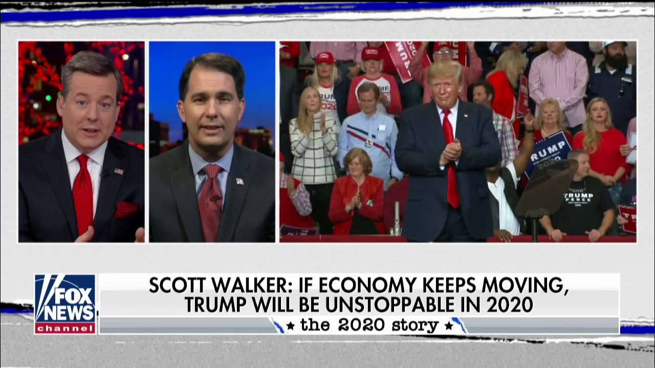 Scott Walker: Trump reversing Obama's stagnant economy will be his key to 2020 victory - Firenews