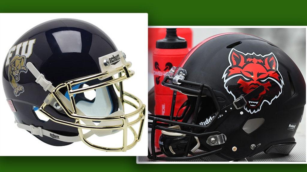 Westlake Legal Group FIU-Arkansas-helmets Camellia Bowl 2019: Arkansas State vs. FIU preview, how to watch & more Ryan Gaydos fox-news/us/us-regions/southeast/florida fox-news/us/us-regions/southeast/alabama fox-news/us/us-regions/midwest/arkansas fox-news/sports/ncaa/fiu-panthers fox-news/sports/ncaa/college-football-bowl-season fox-news/sports/ncaa/arkansas-state-red-wolves fox-news/sports/ncaa-fb fox-news/sports/ncaa fox news fnc/sports fnc article ac269897-b216-5619-b258-24ccb731ef67