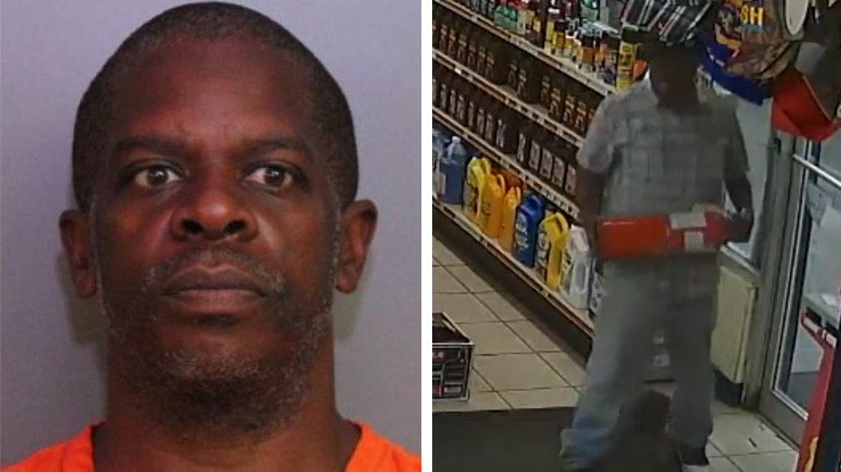 Florida man accused of stealing Pepsi repeatedly fails to get out of store after cashier locks him inside