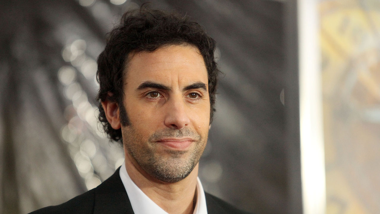 Sacha Baron Cohen is ripped and shirtless in new video from wife Isla Fisher