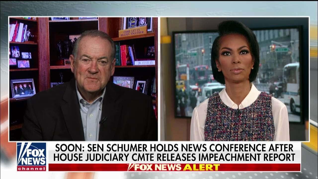 Westlake Legal Group HUckabee- Mike Huckabee on Chuck Schumer's demand for impeachment witnesses: 'I'm embarrassed for him' Talia Kaplan fox-news/topic/fox-news-flash fox-news/shows/outnumbered-overtime fox-news/politics/trump-impeachment-inquiry fox-news/entertainment/media fox news fnc/media fnc da8740c2-2e60-5790-939b-44b039b54e73 article
