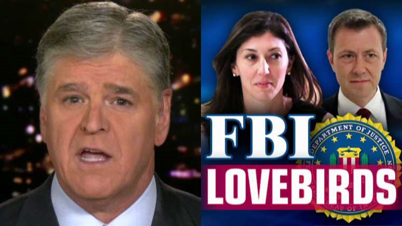 Westlake Legal Group Hannity-split Hannity takes on FBI lovebirds: Lisa Page is 'neither innocent nor a victim' Julia Musto fox-news/shows/hannity/transcript/hannitys-monologue fox-news/shows/hannity fox-news/politics/the-clintons fox-news/person/donald-trump fox-news/news-events/russia-investigation fox-news/media/fox-news-flash fox news fnc/media fnc article 22d9781a-d1db-535b-8c52-f6b0a634f74c
