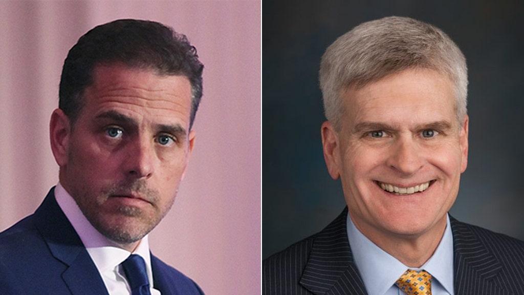 Sen., Bill Cassidy, sagt Republikaner nennen könnte, Hunter Biden als Zeugin im Amtsenthebungsverfahren