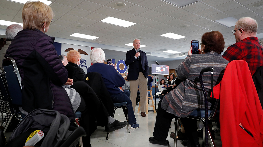 Man who confronted Biden over Ukraine rebuffs heckler: 'Stick it up your a--'