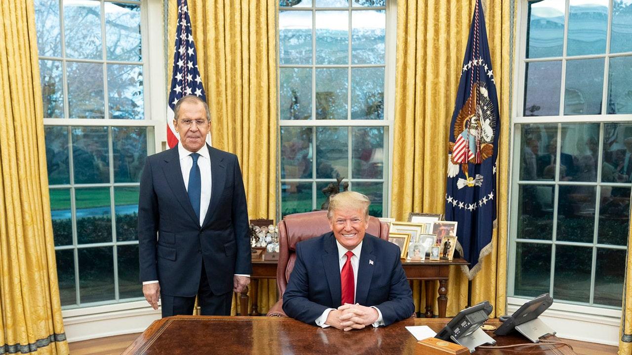Westlake Legal Group Lavrov-Trump-Dec-10 Russia's Sergey Lavrov meets with Trump, Pompeo, dismisses election-interference worries Nick Givas fox-news/world/world-regions/russia fox-news/world/conflicts/ukraine fox-news/politics/executive/white-house fox-news/person/donald-trump fox news fnc/politics fnc article 0032f753-2580-56cb-9a45-45d52e47c05f