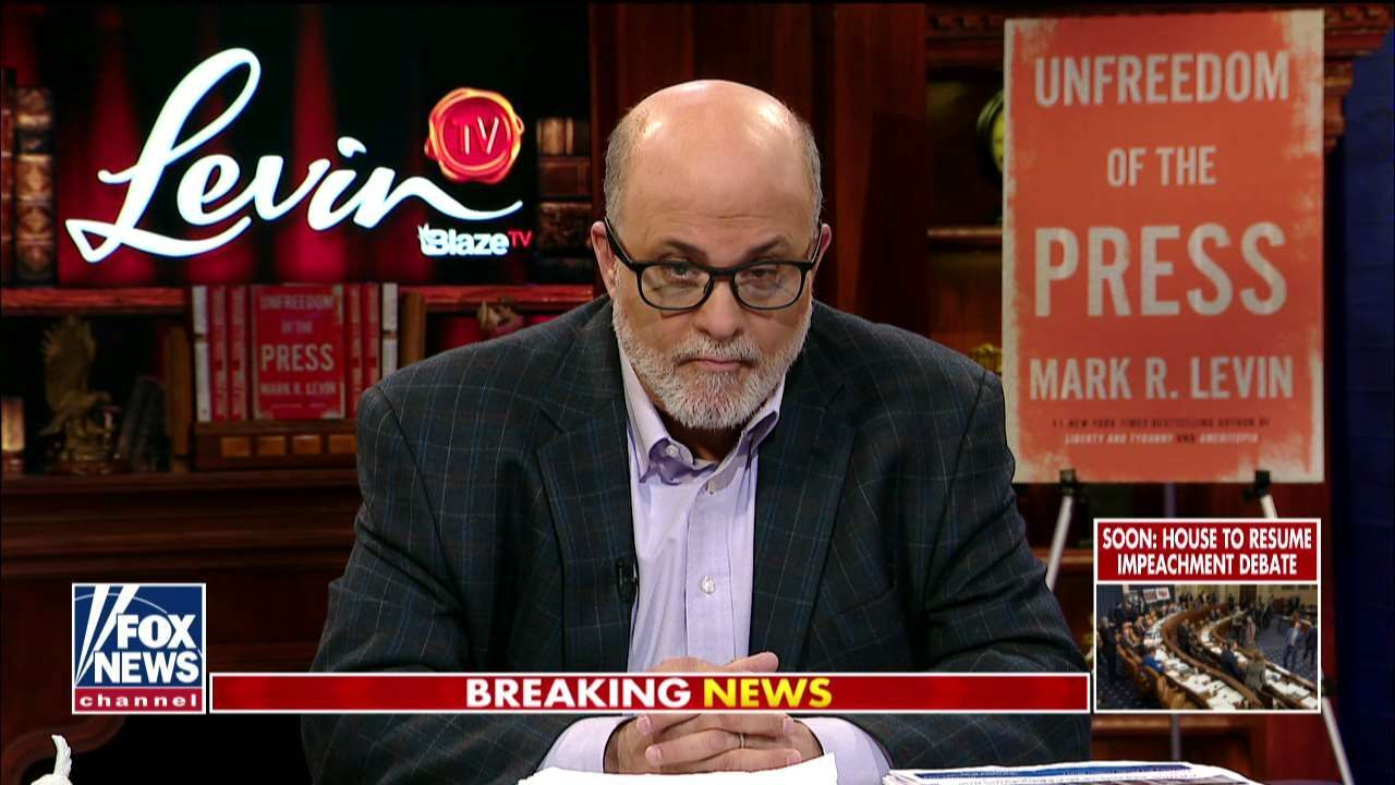 Westlake Legal Group Levin121319 Mark Levin: 'Appalling' to watch lawmakers invoke 'unconstitutional' War Powers Act against Trump fox-news/us/constitution fox-news/politics/senate/republicans fox-news/politics/senate fox-news/politics/house-of-representatives fox-news/politics/elections/libertarians fox-news/politics/defense/wars fox-news/person/donald-trump fox-news/media/fox-news-flash fox-news/media fox news fnc/media fnc Charles Creitz article 8da36f59-98f9-5341-9bfe-6d09a3ace8a7
