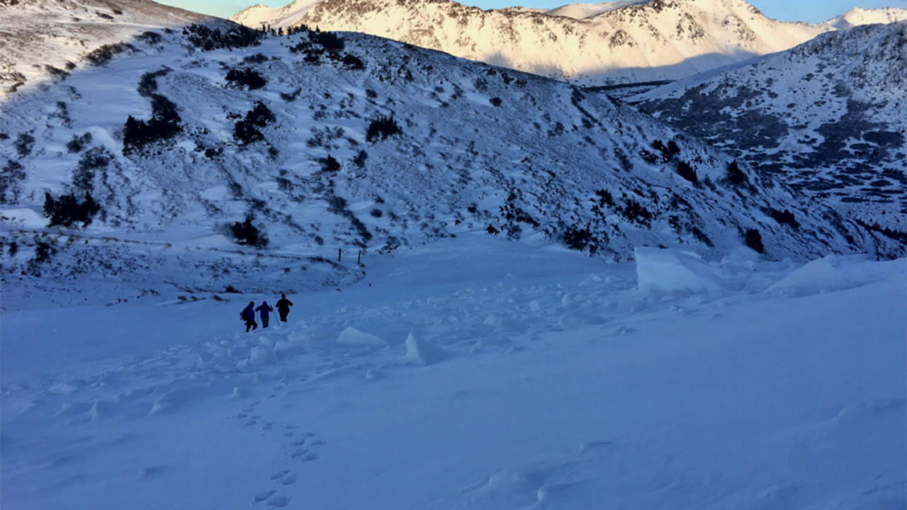 Alaska hiker buried upside down in avalanche for over an hour saved in 'miracle' rescue