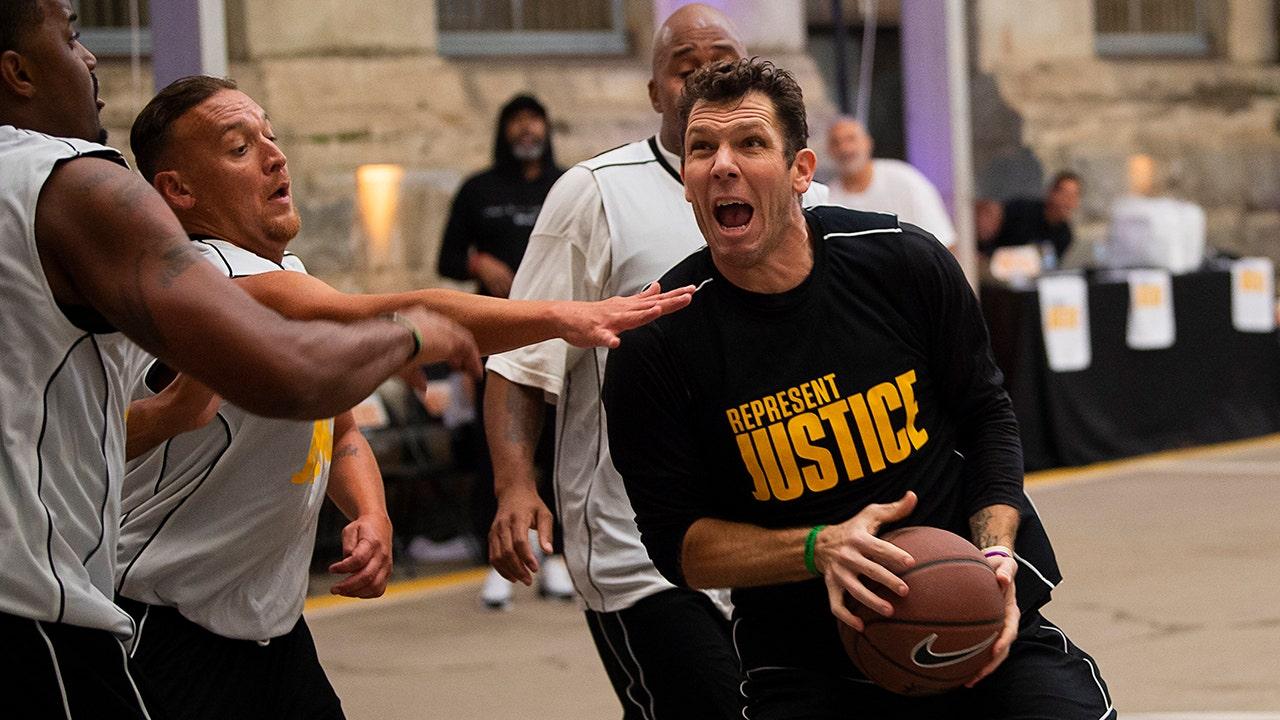 NBA φιλοξενεί φυλακή pickup παιχνίδια στην κοινωνική δικαιοσύνη προσπάθεια