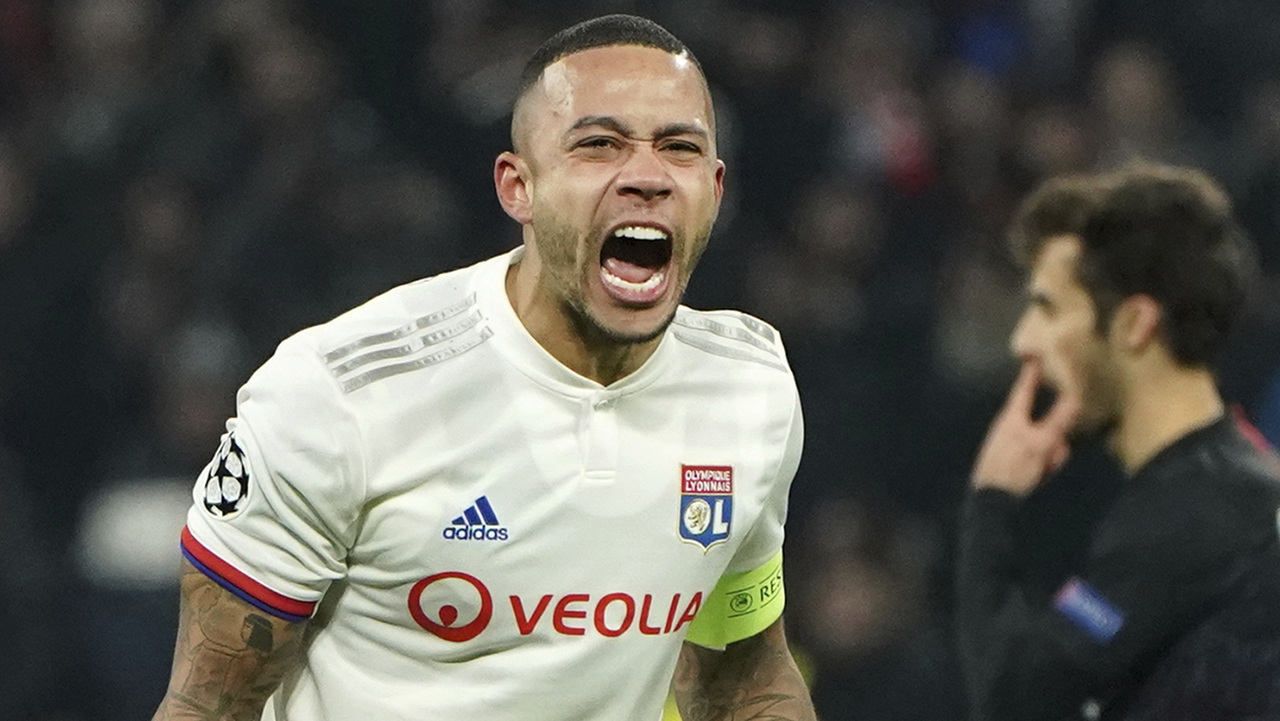Westlake Legal Group Memphis-Depay Memphis Depay could be lost for season as Lyon fears he tore ACL in loss: repot Ryan Gaydos fox-news/world/world-regions/europe fox-news/sports/soccer fox news fnc/sports fnc ee3491fd-79c0-53bd-9aac-bc3373659b9c article