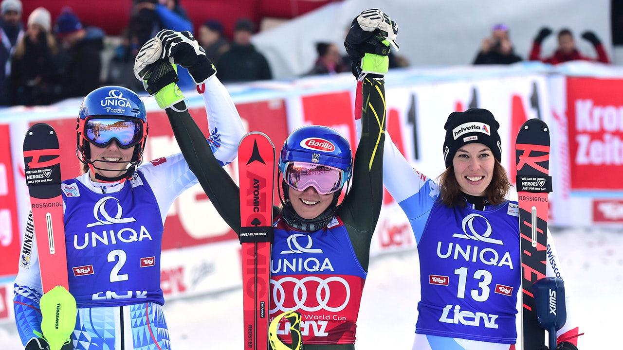 Westlake Legal Group Mikaela-Shiffrin Shiffrin wins WCup slalom to match Vonn's discipline mark fox-news/sports/olympics fnc/sports fnc Associated Press article 3a368ec5-422f-5236-acda-d7605c779cc5
