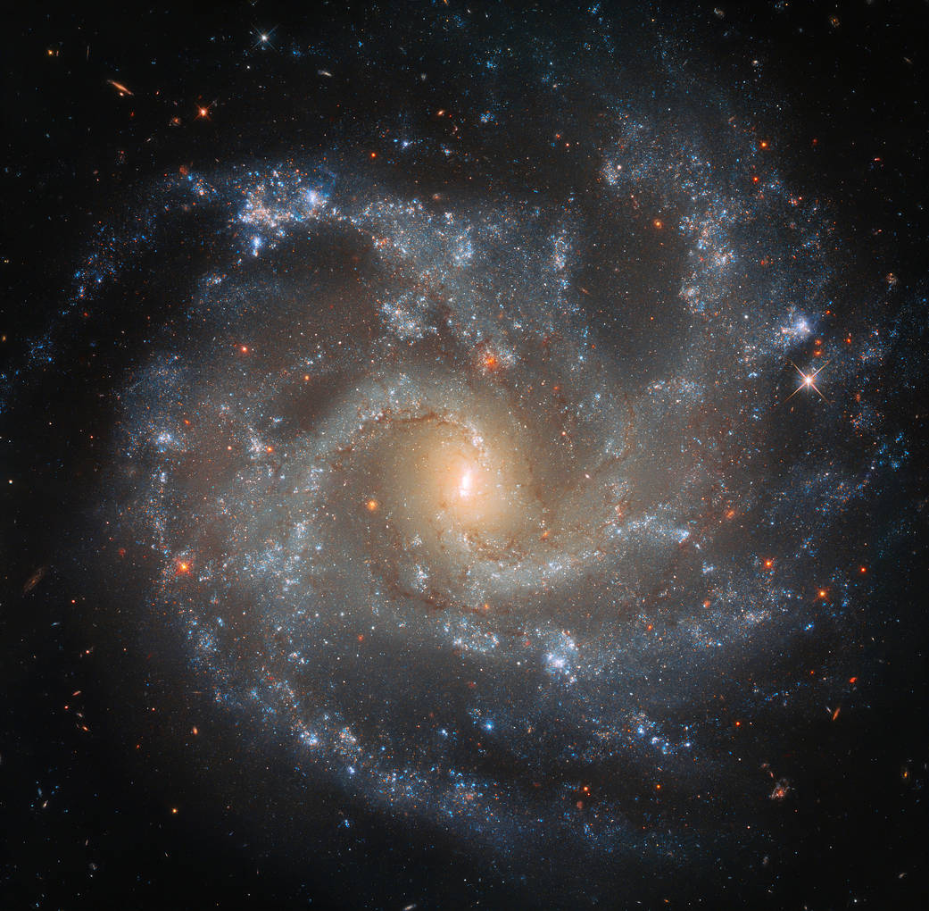NASA's Hubble Space Telescope, capture stunning Galaxy image