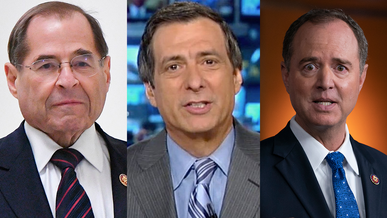 Westlake Legal Group Nadler-Kurtz-Schiff-AP Howard Kurtz: Many Americans tuning out Dems' impeachment 'theater' Julia Musto fox-news/world/world-regions/russia fox-news/topic/fox-news-radio fox-news/tech/topics/fbi fox-news/politics/trump-impeachment-inquiry fox-news/politics/justice-department fox-news/politics/house-of-representatives/republicans fox-news/politics/house-of-representatives/democrats fox-news/person/donald-trump fox-news/news-events/russia-investigation fox-news/media/fox-news-flash fox news fnc/media fnc article 1cba819b-dfe0-57fc-9639-38e76960021e