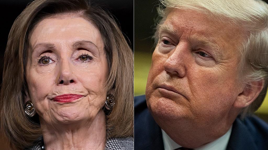 Westlake Legal Group Nancy-Pelosi-Donald-Trump-AP Polls show impeachment hearings not working Democrats, says political reporter Yael Halon fox-news/topic/fox-nation-opinion fox-news/opinion fox-news/fox-nation fox news fnc/media fnc article 62da7aae-ae0a-5a56-a008-93e322dc19c0