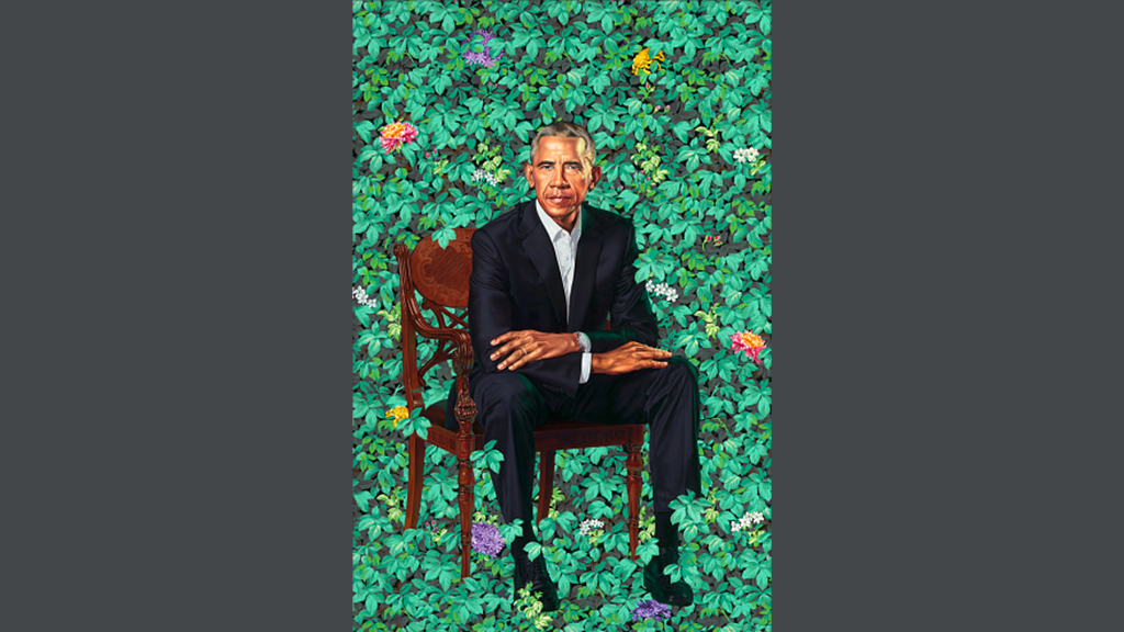 Michelle Obama may have rejected first version of her husband's official portrait