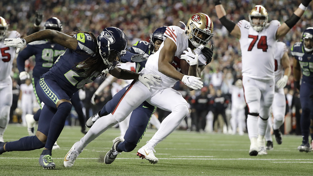 Westlake Legal Group Raheem-Mostert 49ers win NFC West title thanks to heroic stop at 1-yard line against Seahawks Ryan Gaydos fox-news/sports/nfl/seattle-seahawks fox-news/sports/nfl/san-francisco-49ers fox-news/sports/nfl fox news fnc/sports fnc article 9db94396-16c7-565f-bab7-ccbb17ab5bca