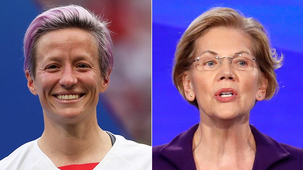 Megan Rapinoe endorses Elizabeth Warren: She's 'bold' and 'real'