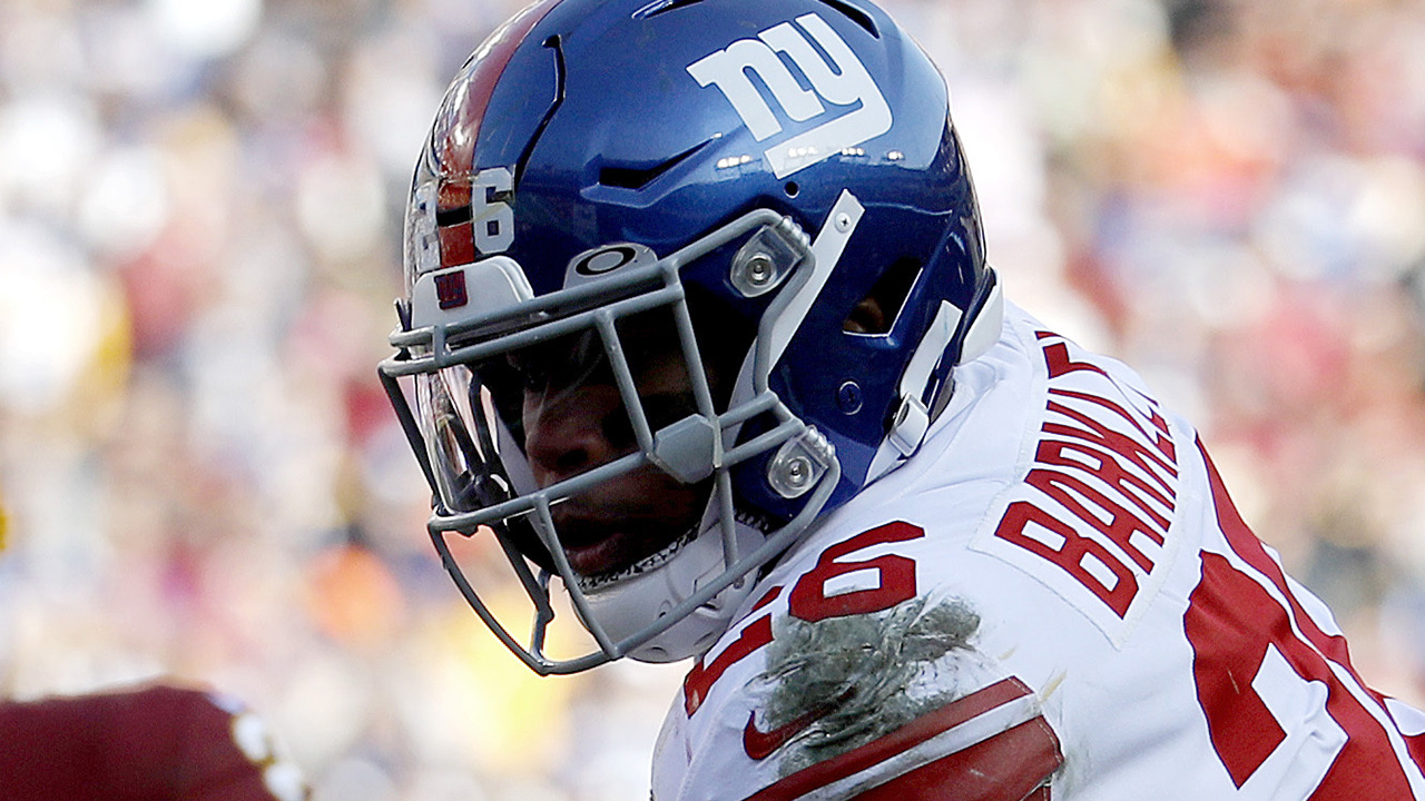 Westlake Legal Group Saquon-Barkley4 Saquon Barkley hopeful for New York Giants' future after strong performance Ryan Gaydos fox-news/sports/nfl/new-york-giants fox-news/sports/nfl fox-news/person/saquon-barkley fox-news/person/daniel-jones fox news fnc/sports fnc article 9378bb05-9dd2-5c6e-abdc-9451b27b77e3