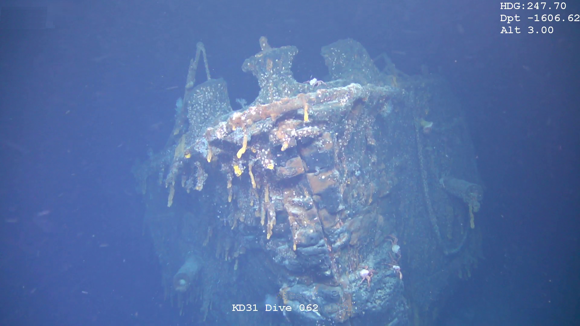 World War I battlecruiser wreck discovered near the Falkland Islands