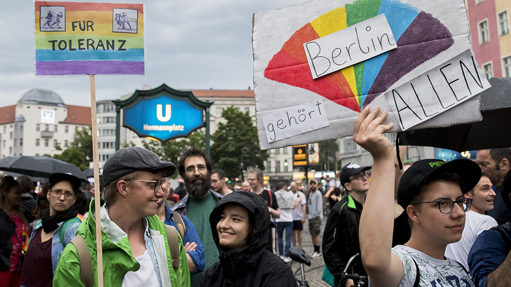 Berlin sees sharp spike in anti-LGBT attacks, study finds