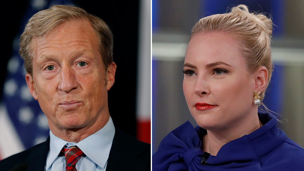 Meghan McCain rips Tom Steyer during 'View' appearance: 'You bought your way' onto debate stage