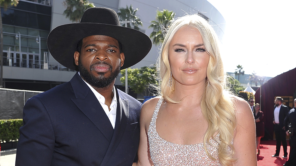 Westlake Legal Group Vonn-subban-cropped-1157pm Olympic skier Lindsey Vonn proposes to NHL star P.K. Subban: 'he said Yes!' Jack Durschlag fox-news/us fox-news/sports/olympics fox-news/sports/nhl/new-jersey-devils fox-news/sports/nhl fox-news/sports fox-news/person/lindsey-vonn fox-news/entertainment/celebrity-news fox news fnc/sports fnc f3c438ce-123a-5855-af07-686f633d463c article