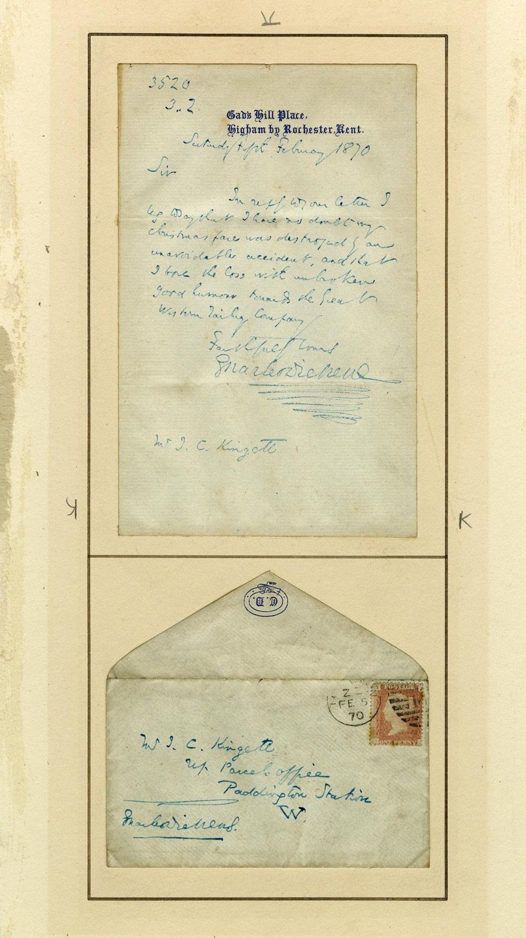 150 tahun Natal surat dari Charles Dickens ditemukan