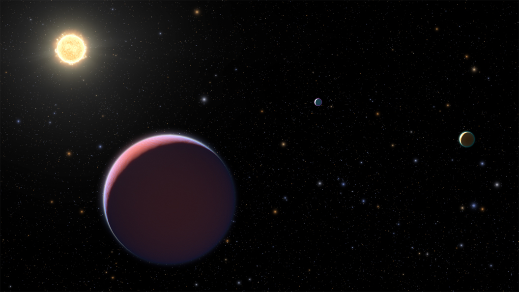 'Super-puff' exoplanets with the density of cotton candy discovered