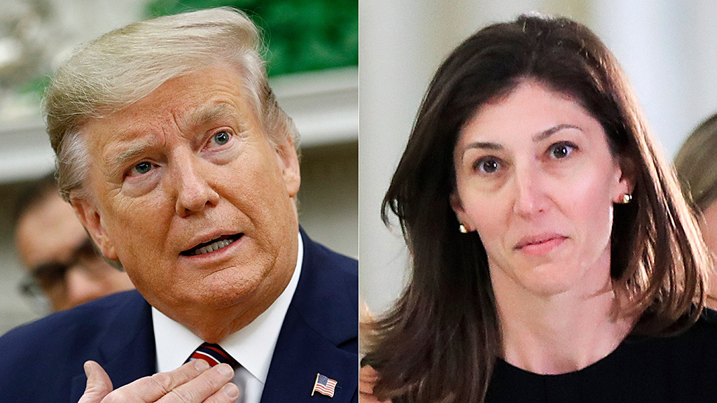 Westlake Legal Group donald-trump-lisa-page-AP Trump hits back at Lisa Page after ex-FBI lawyer breaks silence Ronn Blitzer fox-news/tech/topics/fbi fox-news/person/donald-trump fox-news/news-events/russia-investigation fox news fnc/politics fnc article a0957d49-3cb5-5f1d-95e9-bf8574f6a466