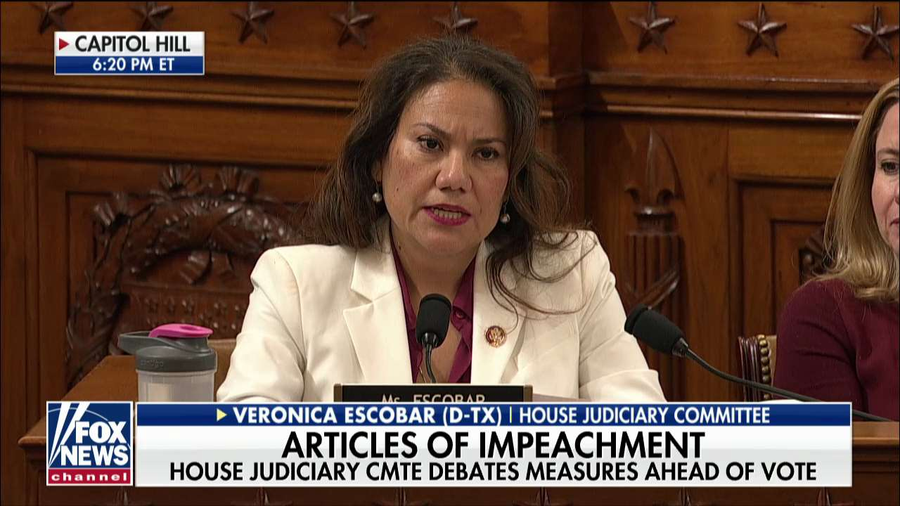 Rep. Veronica Escobar accuses GOP of being 'enablers' of Trump at this 'dark moment in American history'