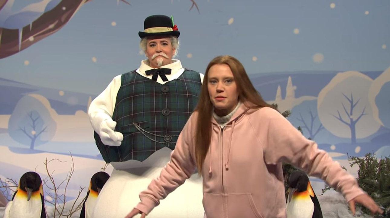 Auf 'SNL,' Greta Thunberg, ruft Trump, warnt vor Weihnachts-Klima-Katastrophe: 'Die Elben ertrinken'