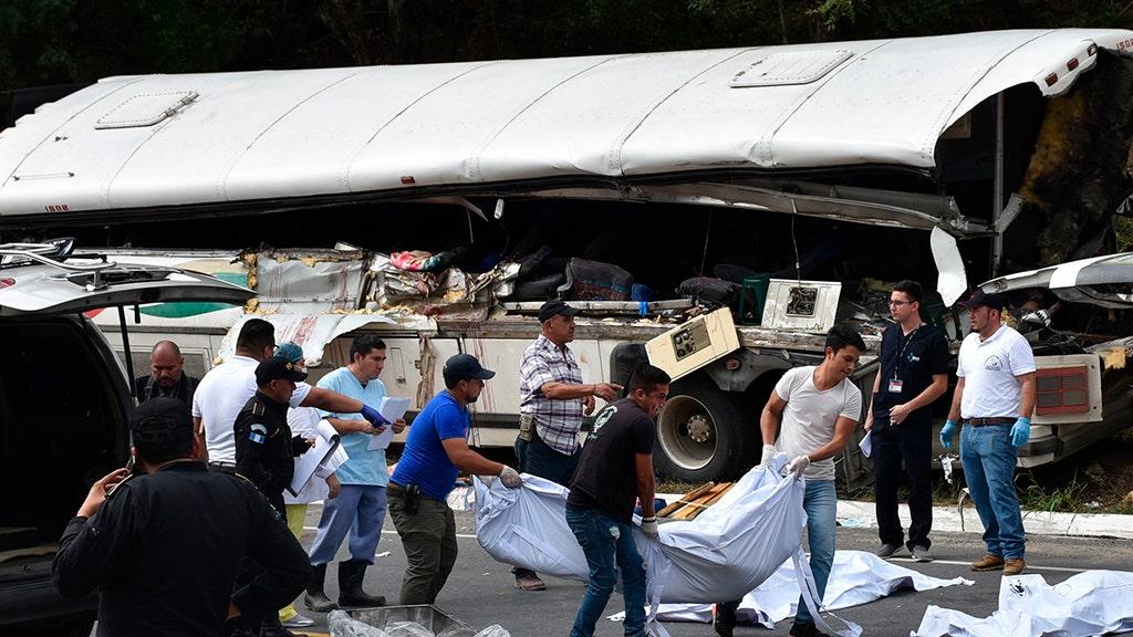 Guatemala kecelakaan bus tewaskan sedikitnya 20 orang