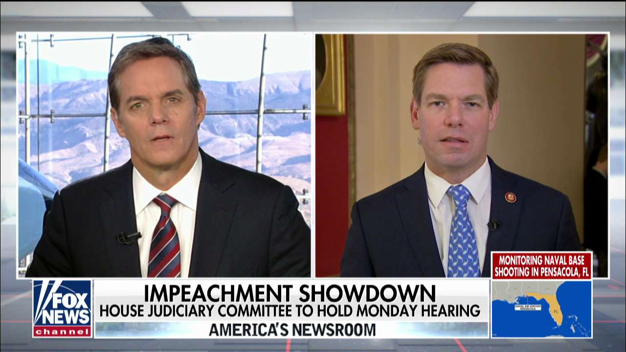 Westlake Legal Group hemmer Rep. Swalwell grilled on impeachment inquiry, defends release of Nunes' phone records Julia Musto fox-news/shows/americas-newsroom fox-news/politics/trump-impeachment-inquiry fox-news/politics/elections/republicans fox-news/politics/elections/democrats fox-news/person/nancy-pelosi fox-news/person/donald-trump fox-news/media/fox-news-flash fox news fnc/media fnc article 61609cdd-211c-5077-95cf-e2e4f4cd9622