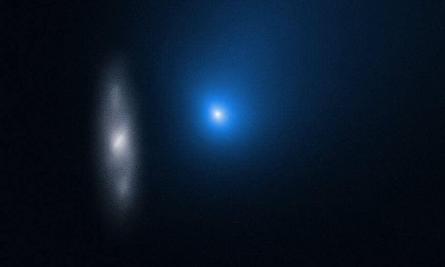 Hubble captures amazing photos of Comet Borisov speeding past our sun