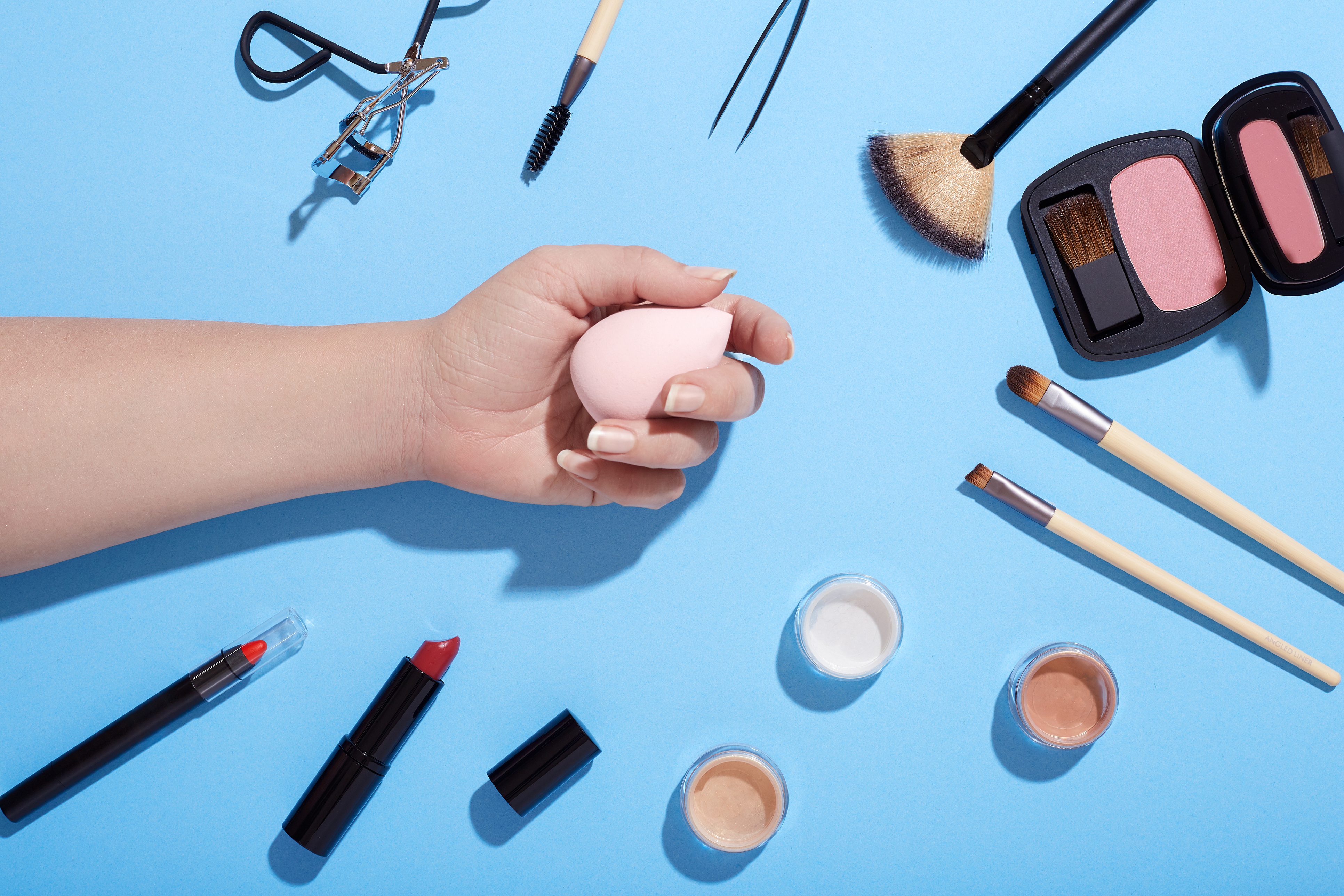 In-use makeup products, namely blending sponges, crawling with infectious bacteria: study
