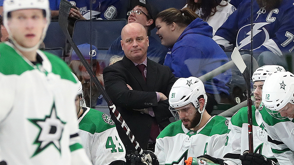 Westlake Legal Group jim-montgomery-Reuters Dallas Stars' head coach Jim Montgomery mysteriously fired over 'unprofessional conduct' Paulina Dedaj fox-news/sports/nhl/dallas-stars fox-news/sports/nhl fox news fnc/sports fnc article 9ebdc78c-14ae-5f20-a9d8-954330d5b0b7