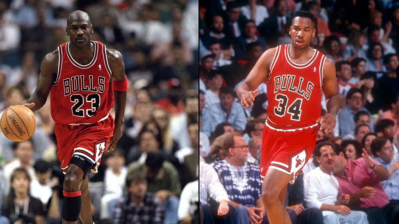 Westlake Legal Group jordan-king-getty Ex-NBA champion recalls rubbing Michael Jordan for good luck before game: 'I thought it was awkward' Ryan Gaydos fox-news/sports/nba/chicago-bulls fox-news/sports/nba fox news fnc/sports fnc article 46e4d9f1-fdfb-5b4d-b657-27abca3ff650