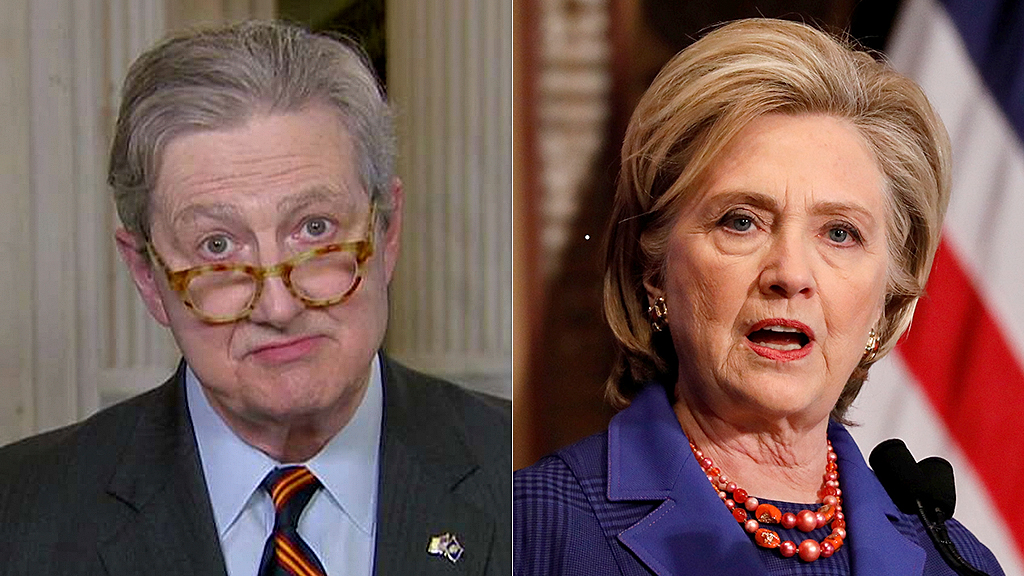 Sen. Kennedy hits back at Hillary: Dems want to sweep reports of Ukrainian meddling under the rug