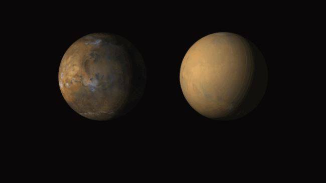 Huge Mars 'dust towers' look like bigger versions of Earth's thunderstorms