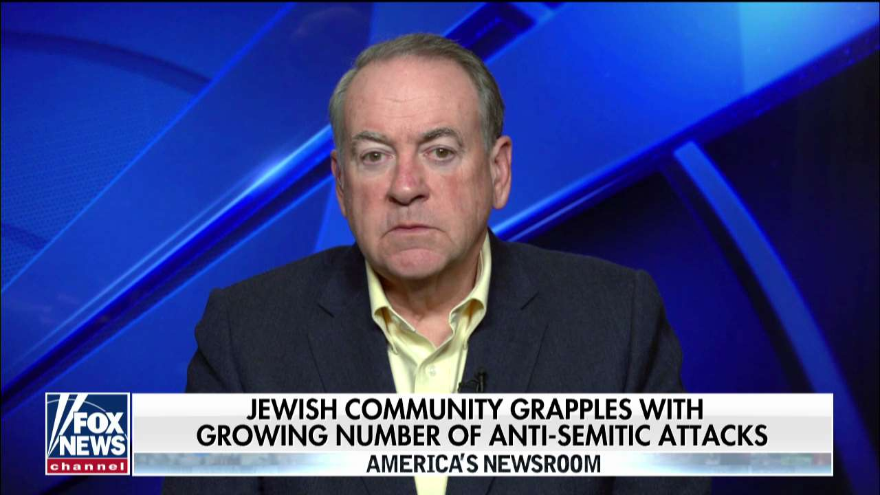 Westlake Legal Group mike-huckabee Gov. Mike Huckabee on Jewish community grappling with growing number of anti-Semitic attacks: 'It is such a bewildering situation' Talia Kaplan fox-news/world/religion fox-news/us/religion/judaism fox-news/us/crime fox-news/topic/fox-news-flash fox-news/topic/anti-semitism fox news fnc/media fnc article 49aac213-0aca-5e37-ba50-1656c1d78e7b