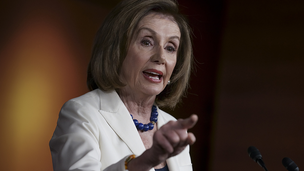 Westlake Legal Group nancy-pelosi-points-AP Pelosi suggests amid Trump impeachment, 'the arts' will help heal America Joseph Wulfsohn fox-news/politics/trump-impeachment-inquiry fox-news/person/nancy-pelosi fox-news/person/donald-trump fox-news/media fox-news/entertainment/genres/arts fox news fnc/politics fnc article 41037d84-1673-5862-a5b1-ac9a11250e43