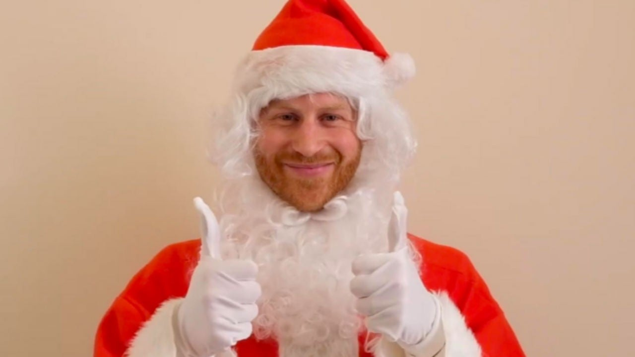 Westlake Legal Group prince-harry Prince Harry dresses up as Santa with a huge belly for a cute children's charity message about losing a parent The Sun fox-news/world/world-regions/united-kingdom fox-news/world/personalities/british-royals fox-news/lifestyle/occasions/christmas fnc/entertainment fnc article 83ecb8c3-f9f5-5833-bcf4-395b49a1cb9a