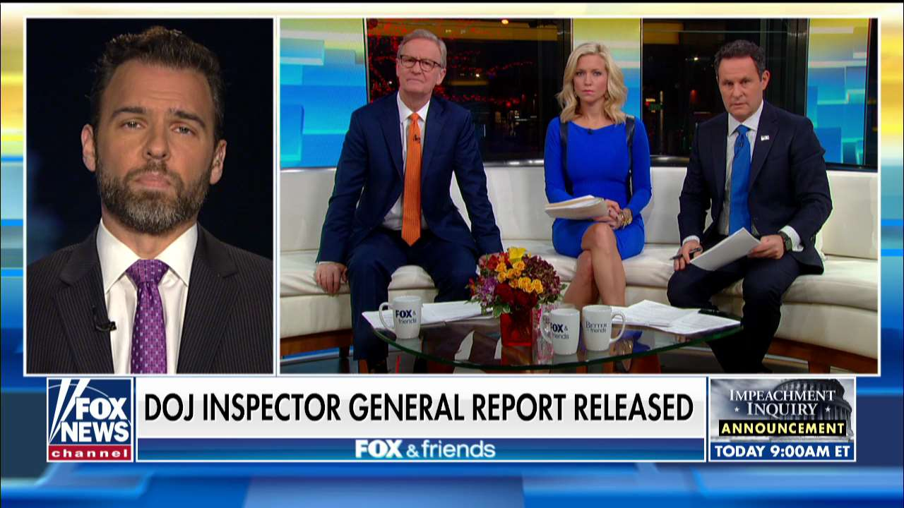 Former DOJ official: Durham's reaction to IG report means 'he's got the goods on somebody'