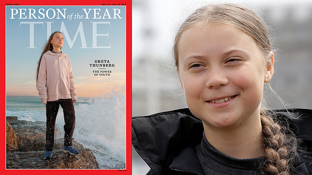Greta Thunberg named TIMEs 2019 Person of the...