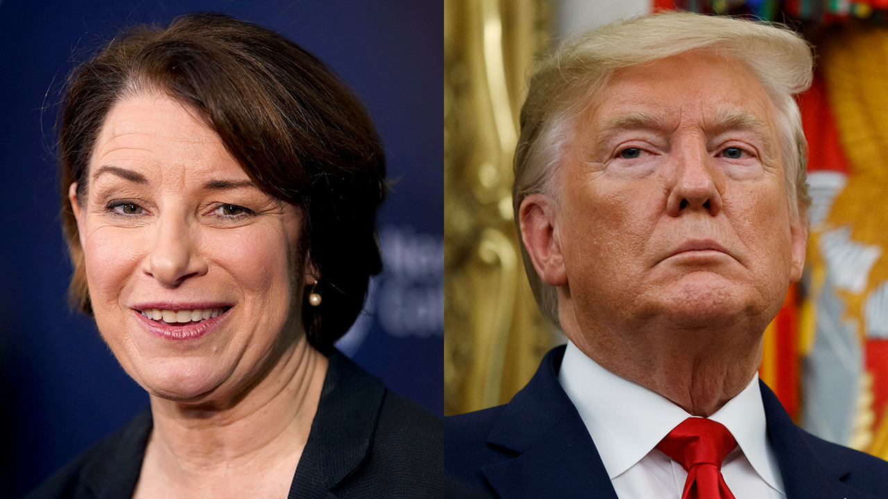 Westlake Legal Group trump-Amy-Klobuchar Klobuchar hints she'll vote to convict Trump if impeachment trial reaches Senate Nick Givas fox-news/politics/trump-impeachment-inquiry fox-news/politics/senate/democrats fox-news/politics/2020-presidential-election fox-news/person/donald-trump fox-news/person/amy-klobuchar fox news fnc/media fnc article 46a31f6f-5c47-5ee6-82d5-06608d48d2e9