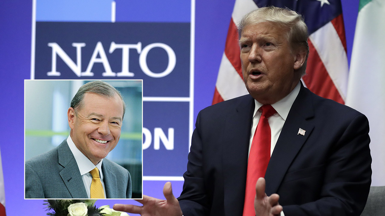 Varney: Trump is 'negotiator in chief' at NATO, world leaders are 'feeling the heat'