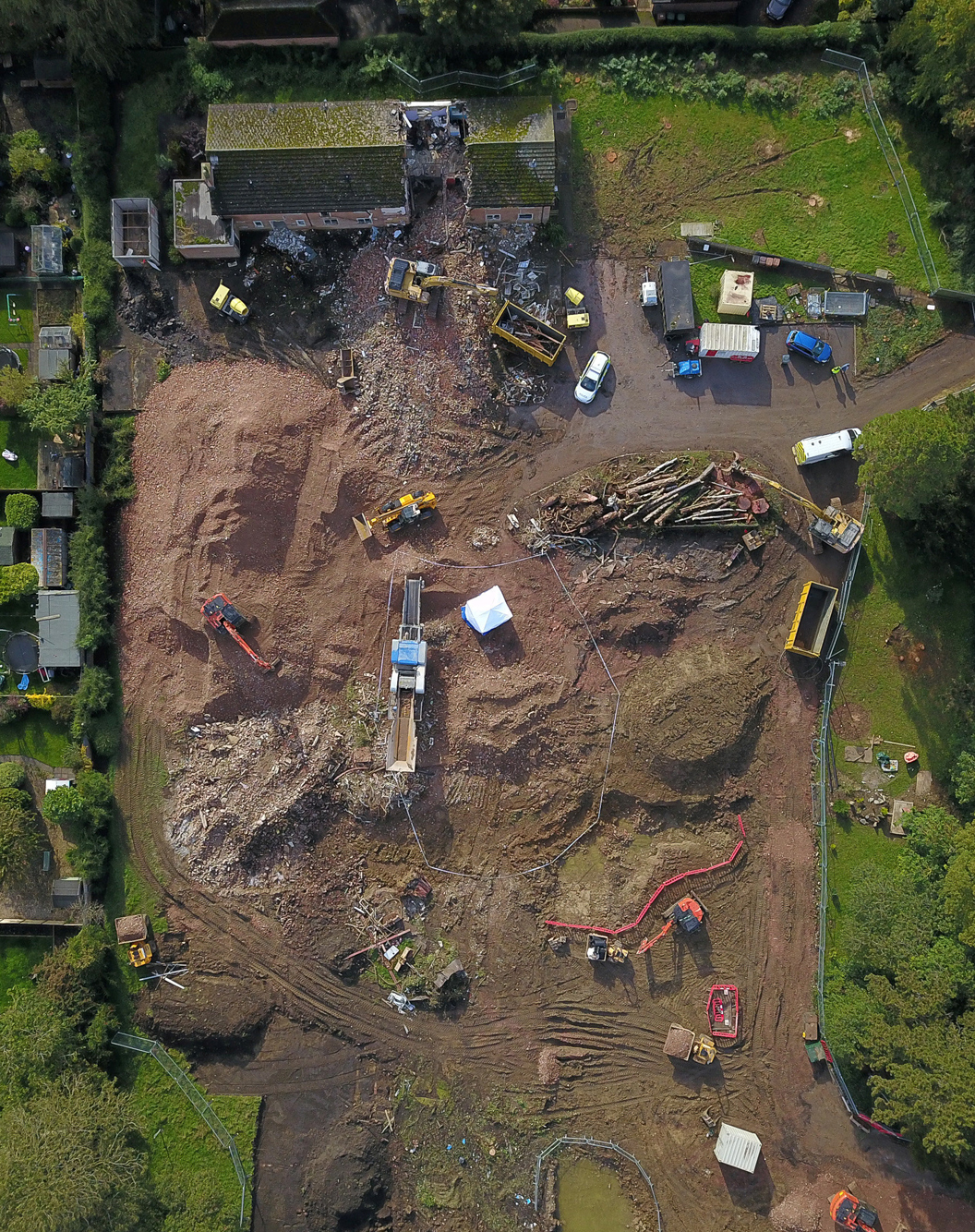 1,400-year-old 'eerie' human remains found under former English nursing home