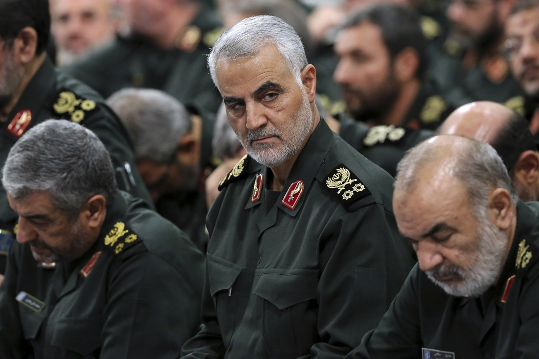 Westlake Legal Group AP20003060462384 Replacement named for Gen. Qassem Soleimani, report says fox-news/world/conflicts/iran fox-news/politics/foreign-policy fox news fnc/world fnc Danielle Wallace article 04c1f986-c9e7-54b7-8b09-ed475a412655