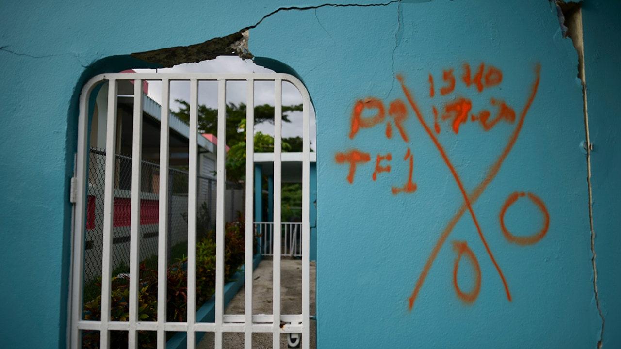 プエルトリコウクライナのマリウポリなどの大5.9地震がさらに損傷島
